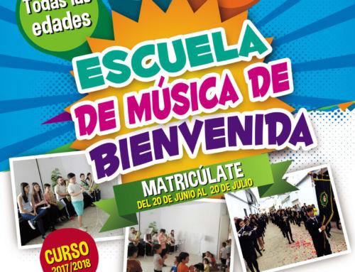 MATRÍCULA DE LA ESCUELA DE MUSICA