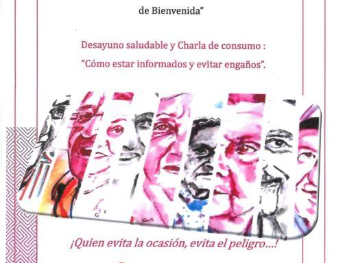 """VII EDICION JORNADAS PARA LAS PERSONAS MAYORES """"COMO ESTAR INFORMADOS Y EVITAR ENGAÑOS"""""""