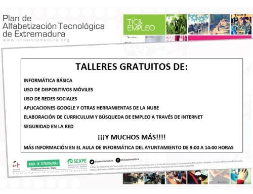 PLAN DE ALFABETIZACION TECNOLOGICA DE EXTREMADURA