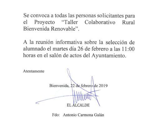 Taller Colaborativo Rural