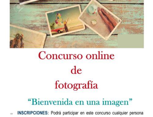 """Concurso de fotografía, verano 2020. """"Bienvenida en una imagen"""""""