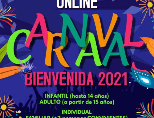 ¡Carnaval desde CASA Bienvenida 2021 !